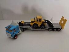 Truck con rimorchio e baufahrzeug S 600 1/87 da majorette