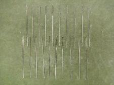 Borsten, Schuhmacherborsten, Metallborsten, 20 Stück/11 cm, Schuhmacherwerkzeug
