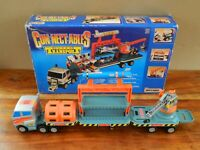 Matchbox Connectables Super Transport Truck Set Boxed and Complete Retro