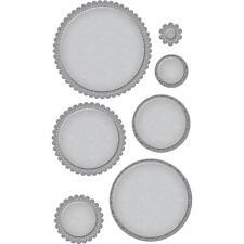 Spellbinders Die ~ FANCY EDGED CIRCLES ~ S4-903