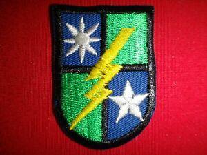 Vietnam War Beret Patch US Army RANGER 75th INFANTRY Regiment Flash