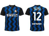 Trikot Sensi Inter 2021 Offizielle Geteilt Home 2020 Stefano 12 Nabeel