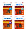 Philips 16gb 32gb 64gb Micro SD  Class 10 UHS-I Tarjeta de Memoria 80