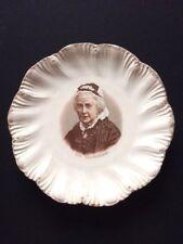 Mrs Gladstone Ceramic Commemorative Plate. Late Victorian 1898/9