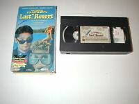 NATIONAL LAMPOON'S LAST RESORT COREY FELDMAN, COREY HAIM 1993 VHS RARE HTF OOP