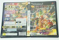 MARVEL VS. CAPCOM 2 New Age of Heroes PS2 CAPCOM Sony Playstation 2 From Japan