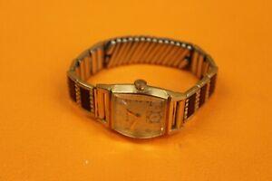 Vintage  L3 Bulova  Hand Wind Mechanic wrist watch  10kt GF Band