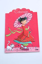 Livre de coloriage princesse d'un jour (7 modèles) à partir de 4 ans