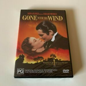 Gone With The Wind DVD New Sealed R4