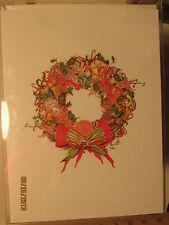 Shirley Bell Design Christmas Card HD-1048 Sea Wreath $19.99  Free Ship see desc