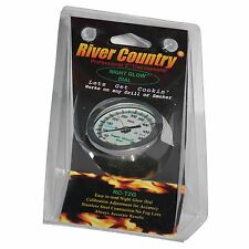 "2"" RC GLOW IN THE DARK BBQ CHARCOAL GAS ELECTRIC GRILL SMOKER PIT THERMOMETER"