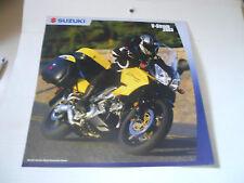 2003 Suzuki V-Strom Brochure
