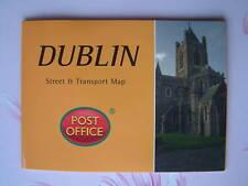 DUBLIN - Street & Transport Map Pocket Guide Pop-Up NEW
