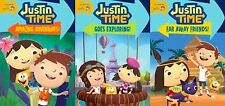 JUSTIN TIME DVD Set Episodes Animated TV Series Lot Collection All Kids Children