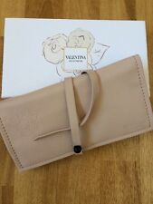 VALENTINO VALENTINA PARFUMS Make Up Jewellery Pouch Hard To Find Soft Pink