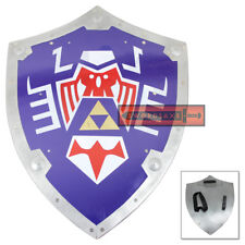 Legend of Zelda Link's Hylian Shield Majora's Mask Triforce Symbol Steel Replica