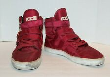 Radii FM1037 Burgundy Straight Jacket Sneakers Athletic Shoes Men's Size 12