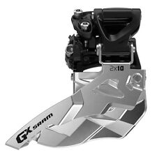 SRAM GX 2x10 Spd Mid Direct Mount Front Derailleur 34T Bottom Pull, New In Box