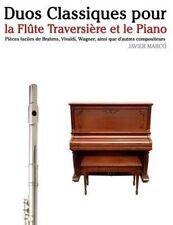 Duos Classiques pour la Flûte Traversière et le Piano: Pièces faciles de Brahms,