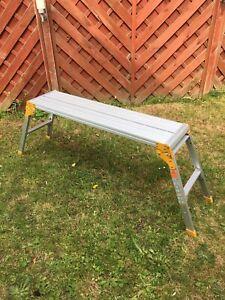 Large Decorators Folding Platforms/Bench Hop/Step