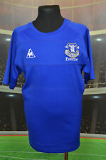 EVERTON LE COQ SPORTIF TRAINING FOOTBALL SHIRT (BOYS XL XLB) JERSEY TOP TRIKOT