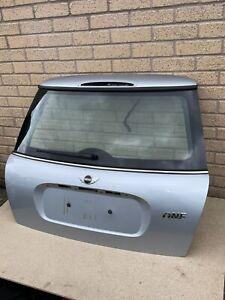 Genuine MINI One Cooper S R50 R53 TAILGATE BOOT LID SILVER 2001-2006
