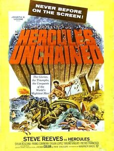 Hercules Unchained 1959 and The Giant of Metropolis 1961 Two Films On DVD