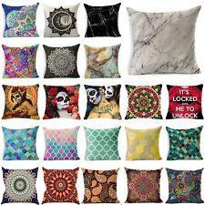 Geometric Marble Texture Throw Pillowcase Cushion Cover Pillow Case Home Decor