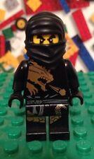 LEGO Ninjago COLE DX DRAGON SUIT  Collectible Minifigure Black Ninja