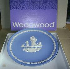 Wedgwood Jasperware Blue Mother 1974 Plate