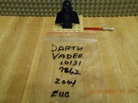 Lego Star Wars Darth Vader Minifigure (7262 & 10131) Authentic Lego EUC