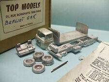 Top Models - BERLIET GAK Brasseur kit à monter métal blanc neuf NBO HO 1/87