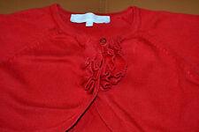 veste tartine et chocolat 2 ans rouge froufrou un peux bolero ***
