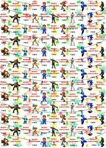 Personalised Gaming Legends Christmas Wrapping Paper