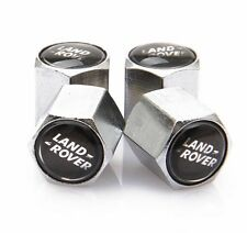 Land Range Rover Car Chrome Valve Dust Caps Covers Wheel Tyre Set of 4 Dustcaps