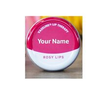Personalised Vaseline Lip Therapy Tin (ROSY LIPS)