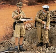 Verlinden 1/35 Luftwaffe DAK Afrika Korps Field Unit Officers WWII (2 Figs) 1488