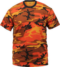 Camo T-Shirt Tactical Tee Short Sleeve Military Army Camouflage Uniform Fashion