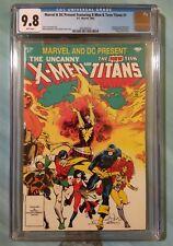 X-MEN & NEW TEEN TITANS #1 🔥 CGC 9.8 WHT 🔥 Dark Phoenix! Marvel & DC 1982