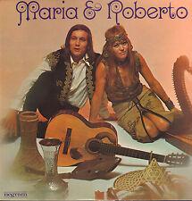 MARIA & ROBERTO - MARIA & ROBERTO (RARE 1970 DUTCH FOLK VINYL LP NEGRAM)