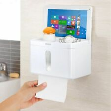 Paper Towel Dispenser Holder Wall-mounted Bathroom Roll Coreless Toilet Tissue
