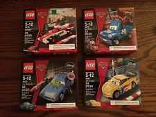 LEGO 9478 9479 9480 9481 Disney Pixar Cars Vehicle Lot New in Sealed Boxes!