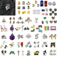 Cartoon Enamel Piercing Brooch Pin Collar Decor Badge Corsage Jewelry Women Gift