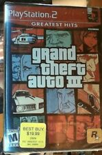"Brand New sealed PlayStation 2 Grand Theft Auto III ""Greatest Hits"" ediiton"