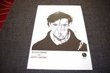 AZTEC CAMERA Roddy Frame signed Autogramm auf 20x30 cm Foto InPerson LOOK