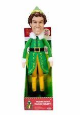 "Jakks Christmas Holiday Elf Talking Plush, 15 Phrases 12"" Interactive Toy Doll"