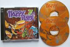 ⭐⭐⭐ █▬█ Ⓞ ▀█▀  ⭐⭐⭐⭐ HAPPY RAVE 7  ⭐⭐⭐ 36 Tracks on 2 CD ⭐⭐⭐ Various Artists ⭐⭐⭐