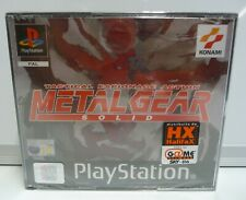 METAL GEAR SOLID - SONY PS1 - NUOVO PAL ITA - NEW SEALED PSX SIGILLATO RARO