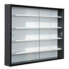 Display Cabinet Collection Hallway Study Exhibit Furniture Interlink Glass Black