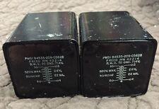 Vintage Freed Pmsi Transformer Pn 42214 520 V Max 5060 Hz 26 V 22 Ma Lot Of 2